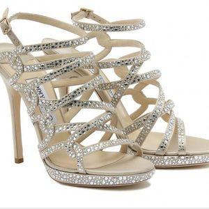 PRICE DROP Jimmy choo heels crystal sequin